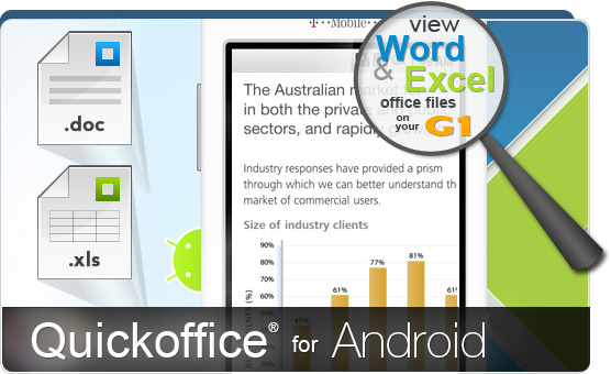 quickoffice android banner