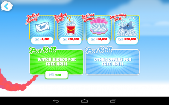 Whale Trail Frenzy   get more krill
