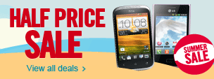 Carphone Warehouse Half Price