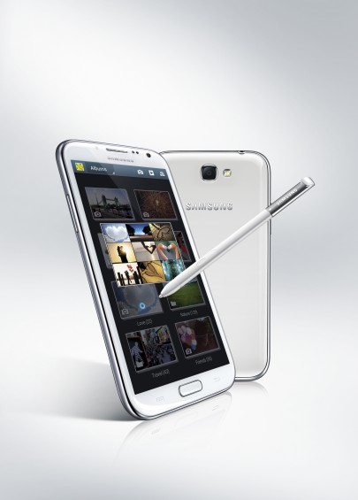 GALAXY Note II Product Image Key Visual 2