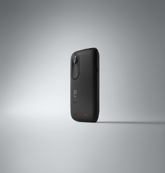 HTC Desire X Black 3 4 Back