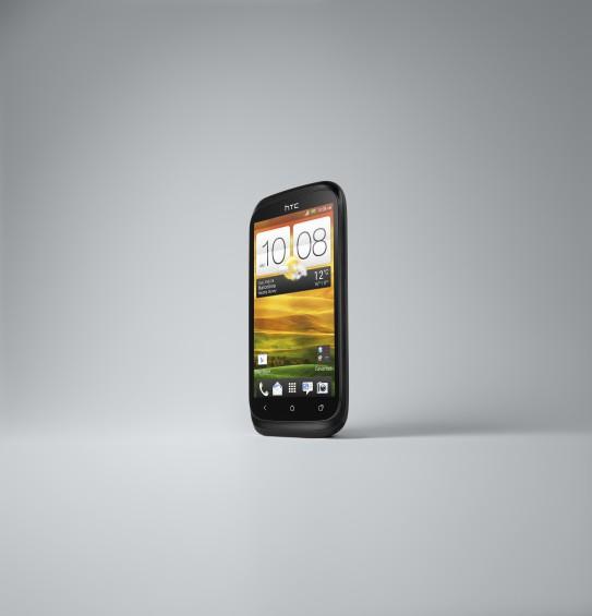 HTC Desire X Black 3 4 Left