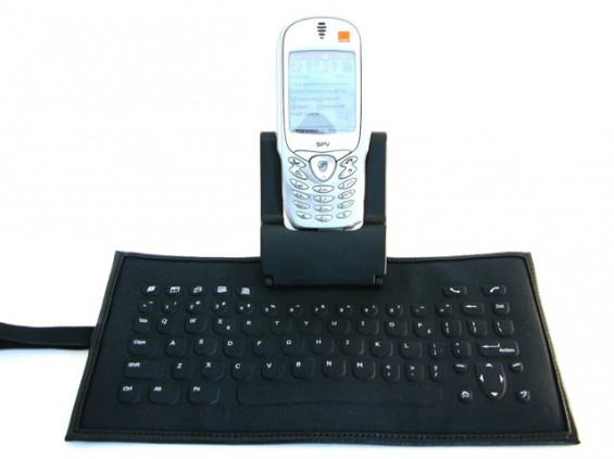 Orange SPV with Roll Out Keyboard