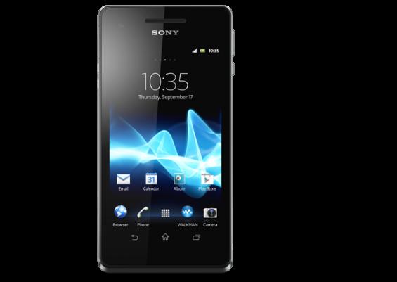 xperia v black android smartphone 620x440