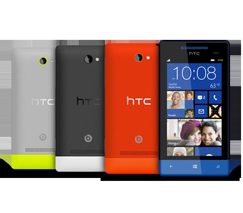 HTC WP 8S 4B multicolor
