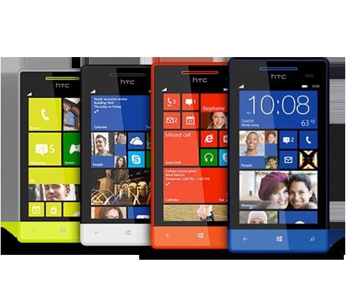 HTC WP 8S 4F multicolor