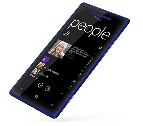 HTC WP 8X L45 blue