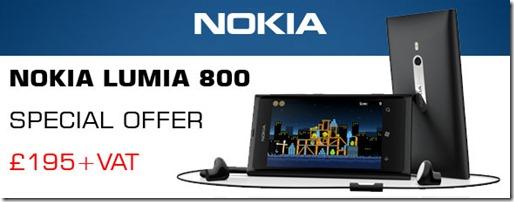 Lumia 800 Price Drop
