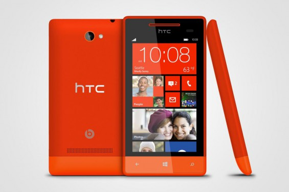 Windows Phone 8S by HTC Fiesta Red