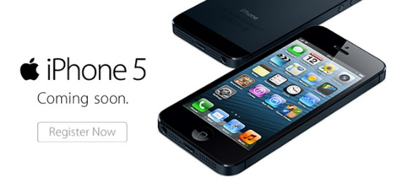 iPhone5 register now