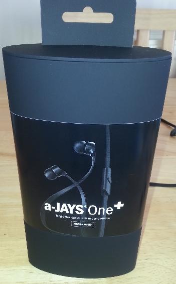 a Jays headphone box
