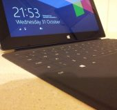 Microsoft Surface with Windows RT   Initial Impressions