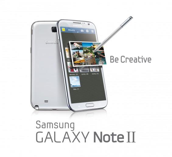 GALAXY Note II Product Image Key Visual 1