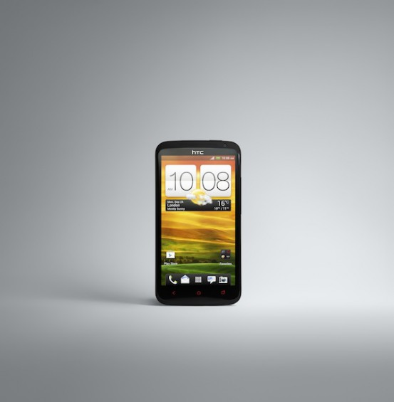 HTC One X+ FRONTON BLACK