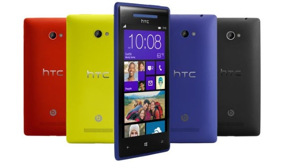 HTC Windows Phone 8X colours