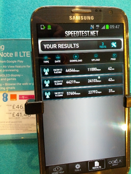 4G Speed Test