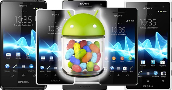 android jelly bean for xperia handsets 1350645756