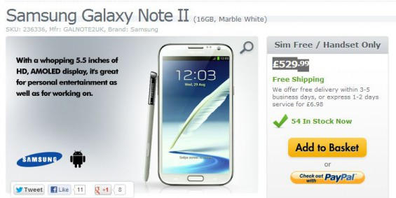 galaxy note ii expansys