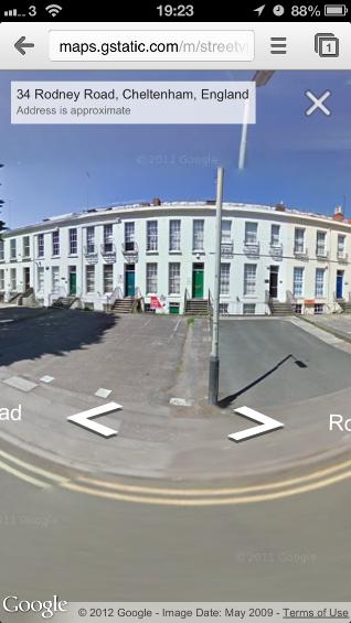 Google Maps on iOS6 Streetview (2)