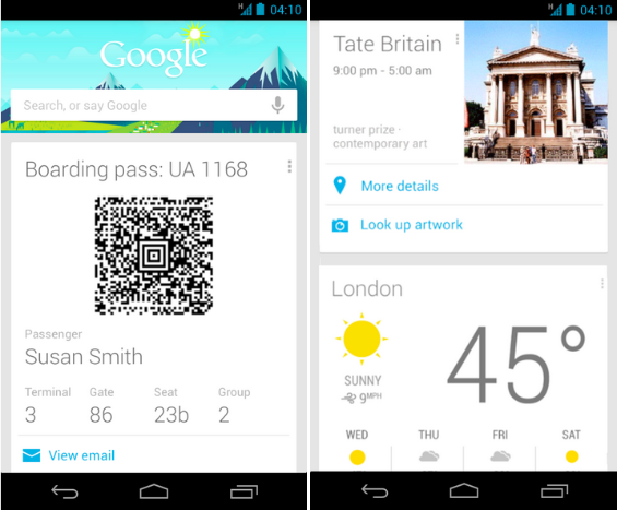 Google Now   Travel Cards Update3