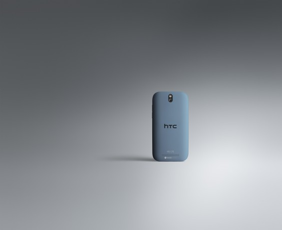 HTC One SV Back Pyrenees blue 4G