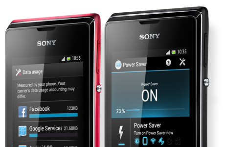 xperia e ss message stay on top 460x3001