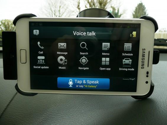 Samsung Galaxy Note Car Dock