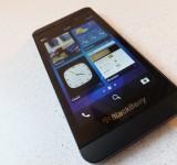 BlackBerry Z10   Initial Impressions