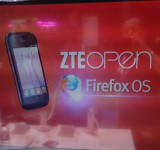 MWC   ZTE Press launch. Surprises in store   ZTE Open, the first Firefox Mobile revealed