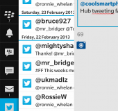 Adventures of a BlackBerry virgin part 1   The Blackberry Hub
