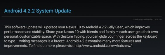 nexus10 android4.2.2