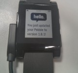 Pebble unboxing and first impressions