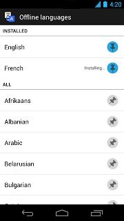 Translate OfflineLanguages
