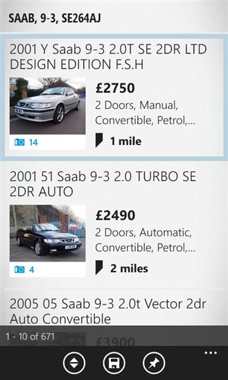 auto trader appAuto Trader windows Phone App