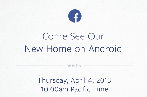 facebook and android event