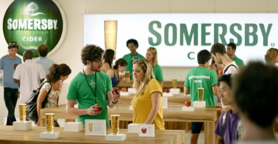 somersby cider Apple Store Mac