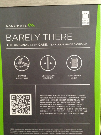 casemate barely there features