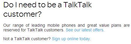 3 talktalk customer