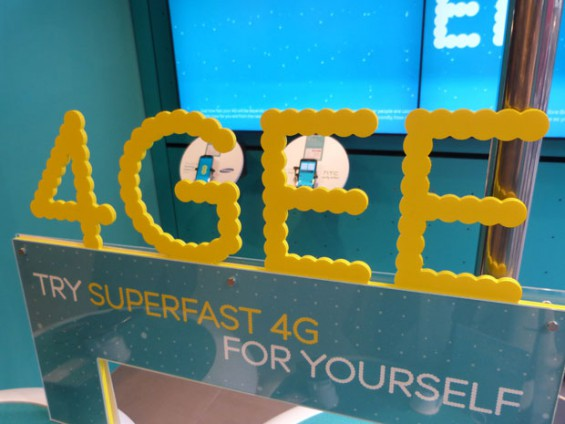 4g ee store stand