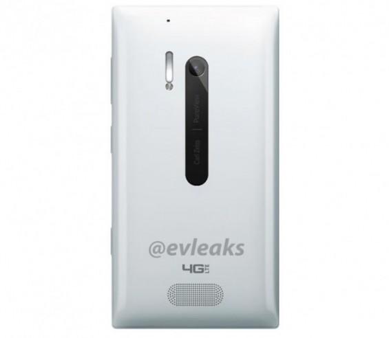White Nokia Lumia 928