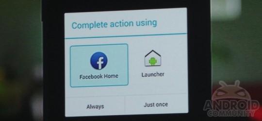 facebook phone launcher