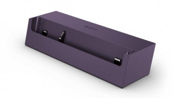 sony z charging dock purple 1