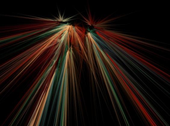 Fractal speed effect