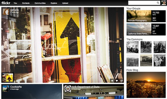 flickr example