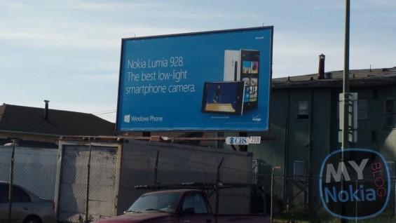 nokia 928 billboard