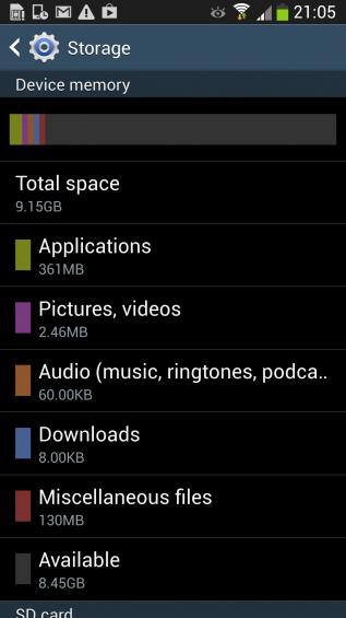 s4 storage