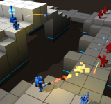 Cubemen 2 arrives   Stand to attention!