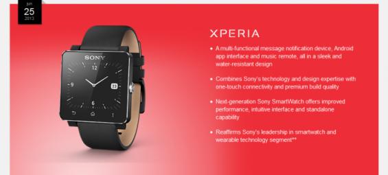Smartwatch info