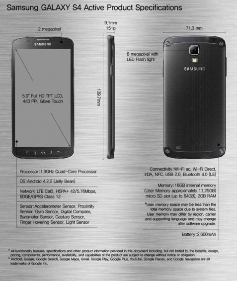 wpid Samsung GALAXY S4 Active Product Specifications.jpg
