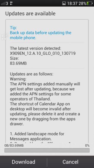 oppo update